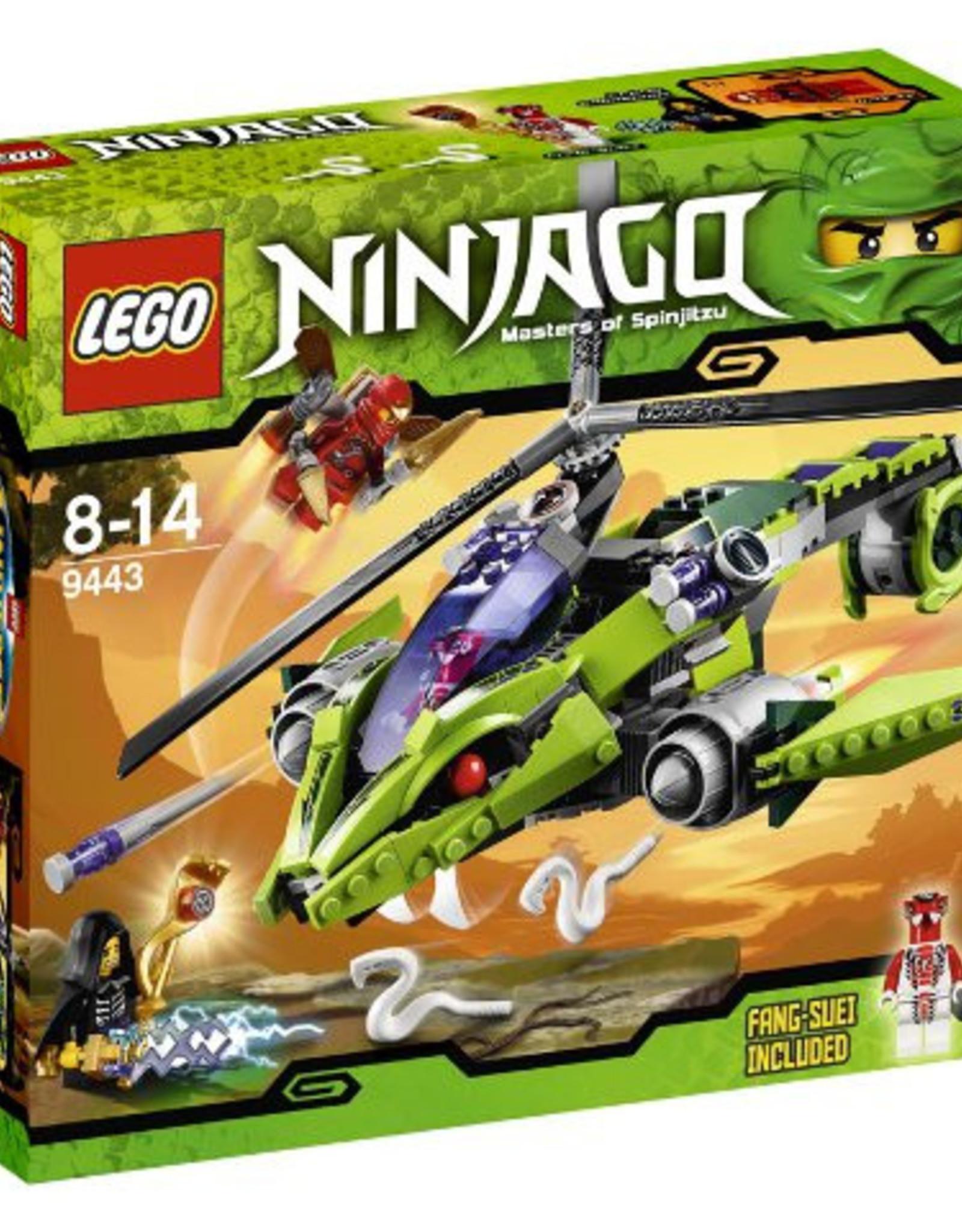 LEGO LEGO 9443 Rattlecopter NINJAGO