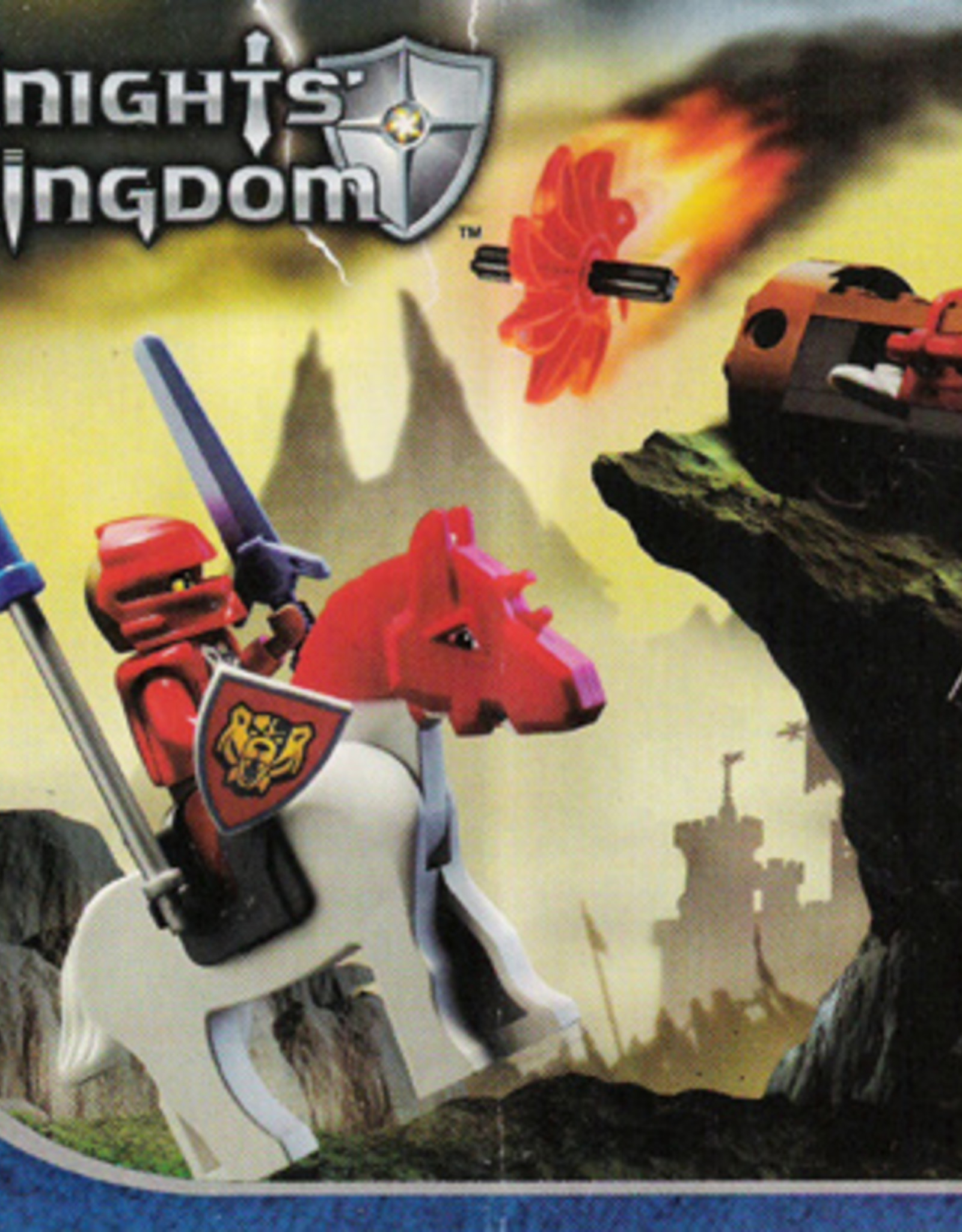 LEGO LEGO 8873 Fireball Katapult KNIGHTS KINGDOM