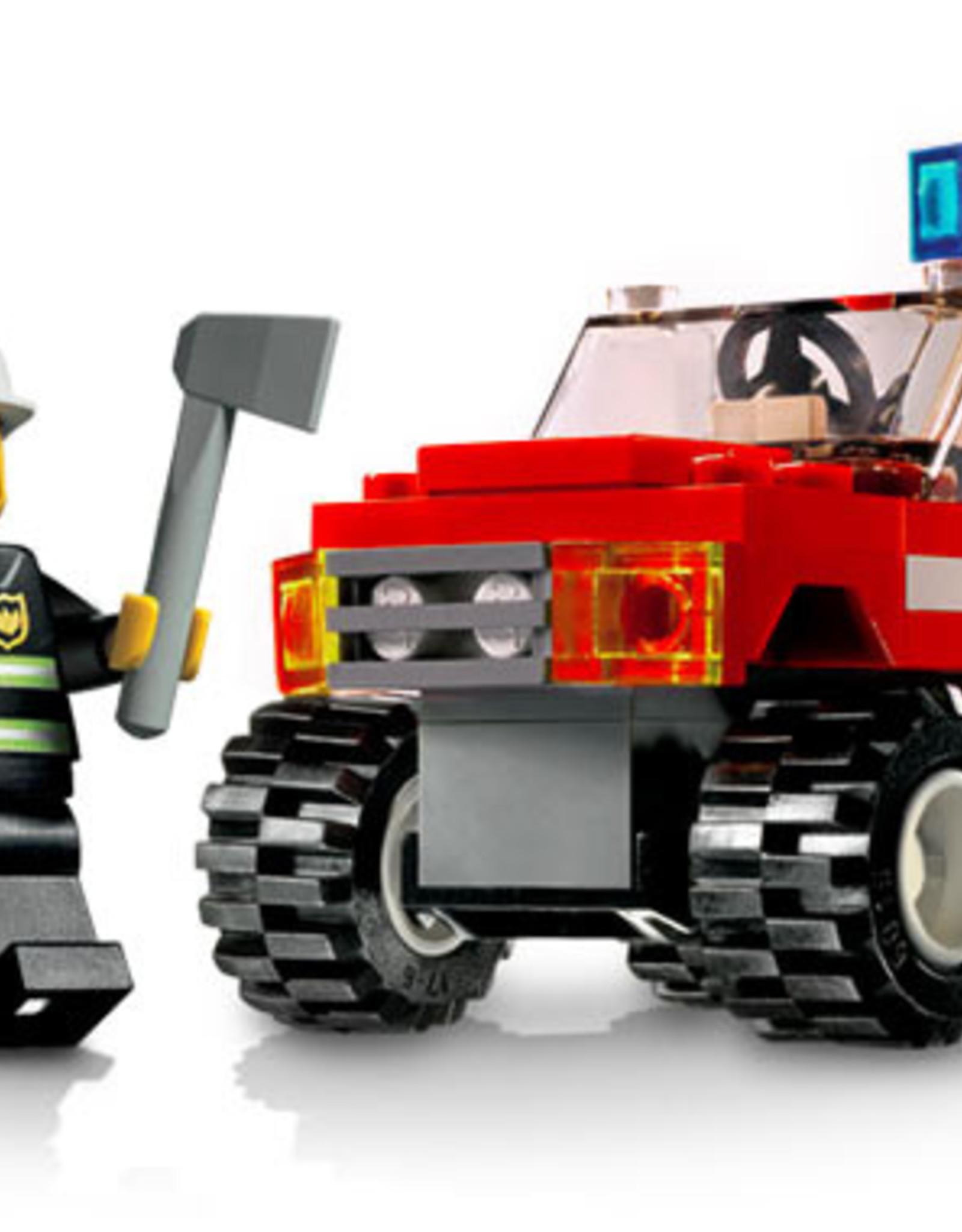 LEGO LEGO 7241 Brandweerauto klein CITY