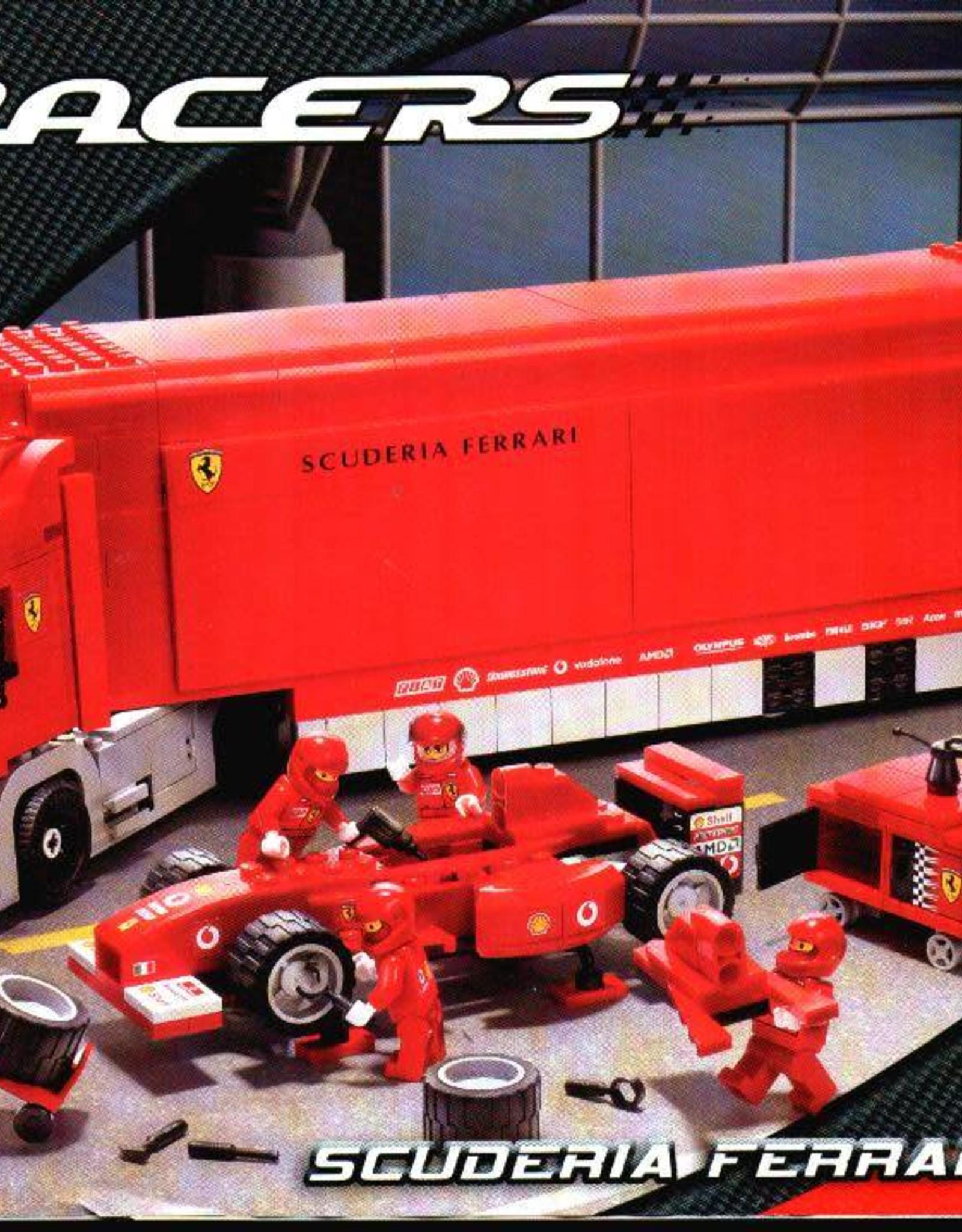 LEGO LEGO 8654 Scuderia Ferrari truck RACERS