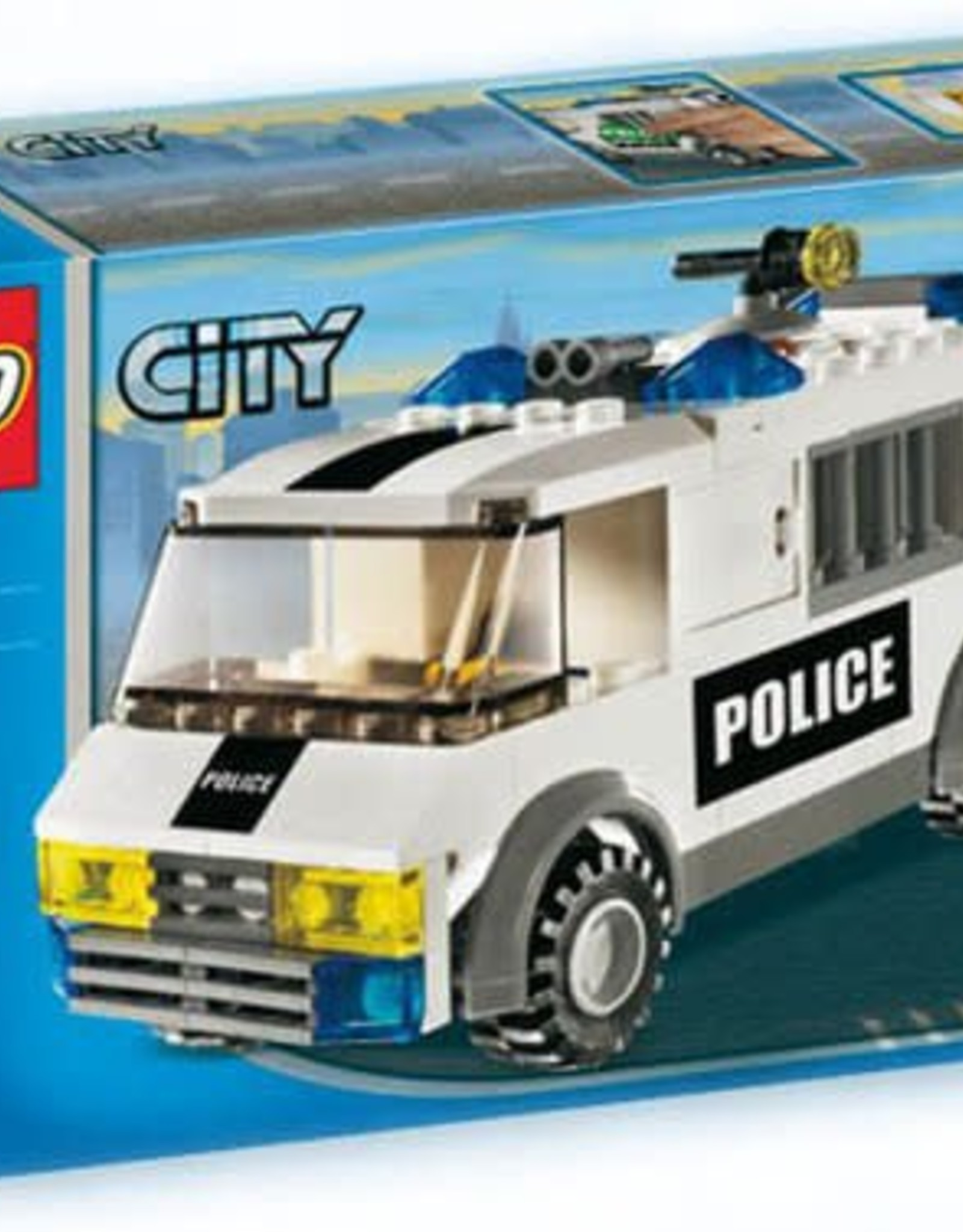 LEGO LEGO 7245 Politie gevangenentransport  CITY