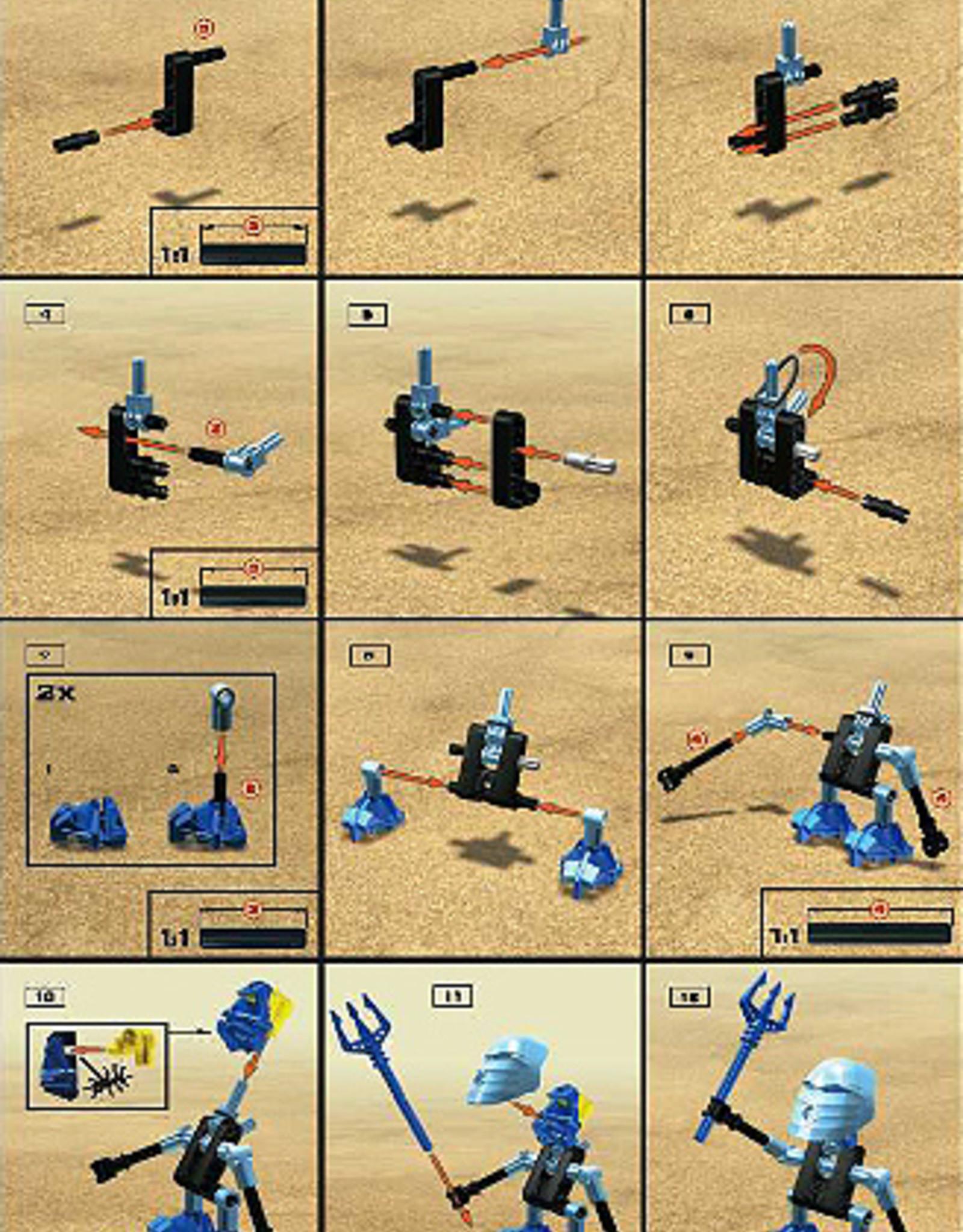 LEGO LEGO 8543+8533 +  Nokama + Gali BIONICLE