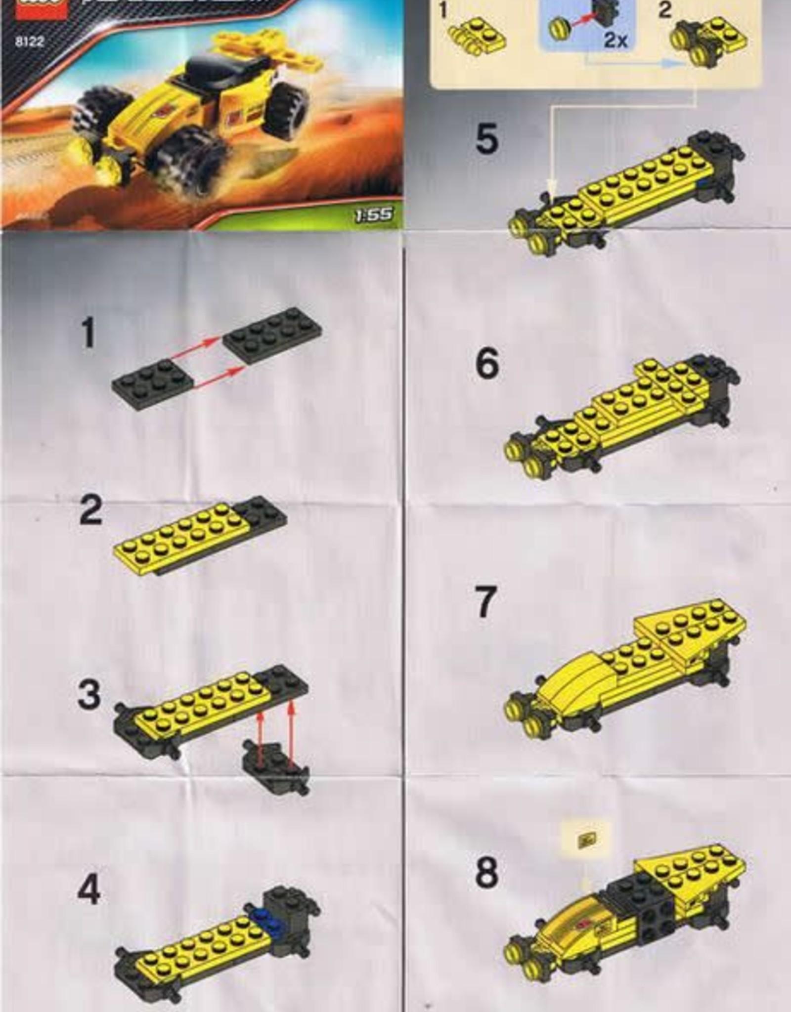 LEGO LEGO 8122 Desert Viper RACERS