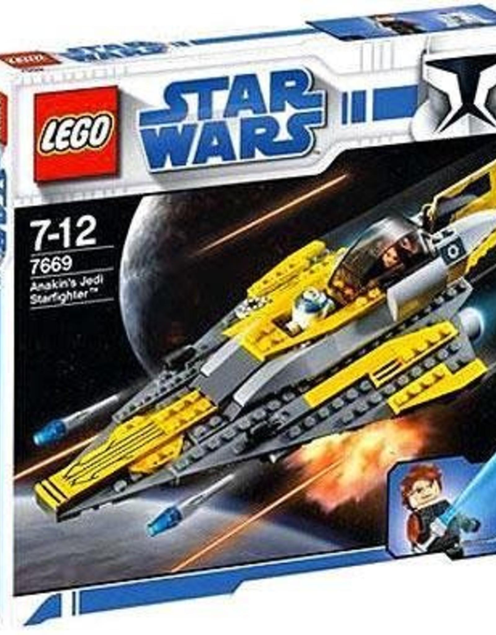 LEGO LEGO 7669 Anakin Jedi Starfighter STAR WARS