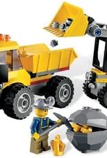 LEGO LEGO 4201 Mijnwerkers kiepwagen + Graafmachine geel CITY