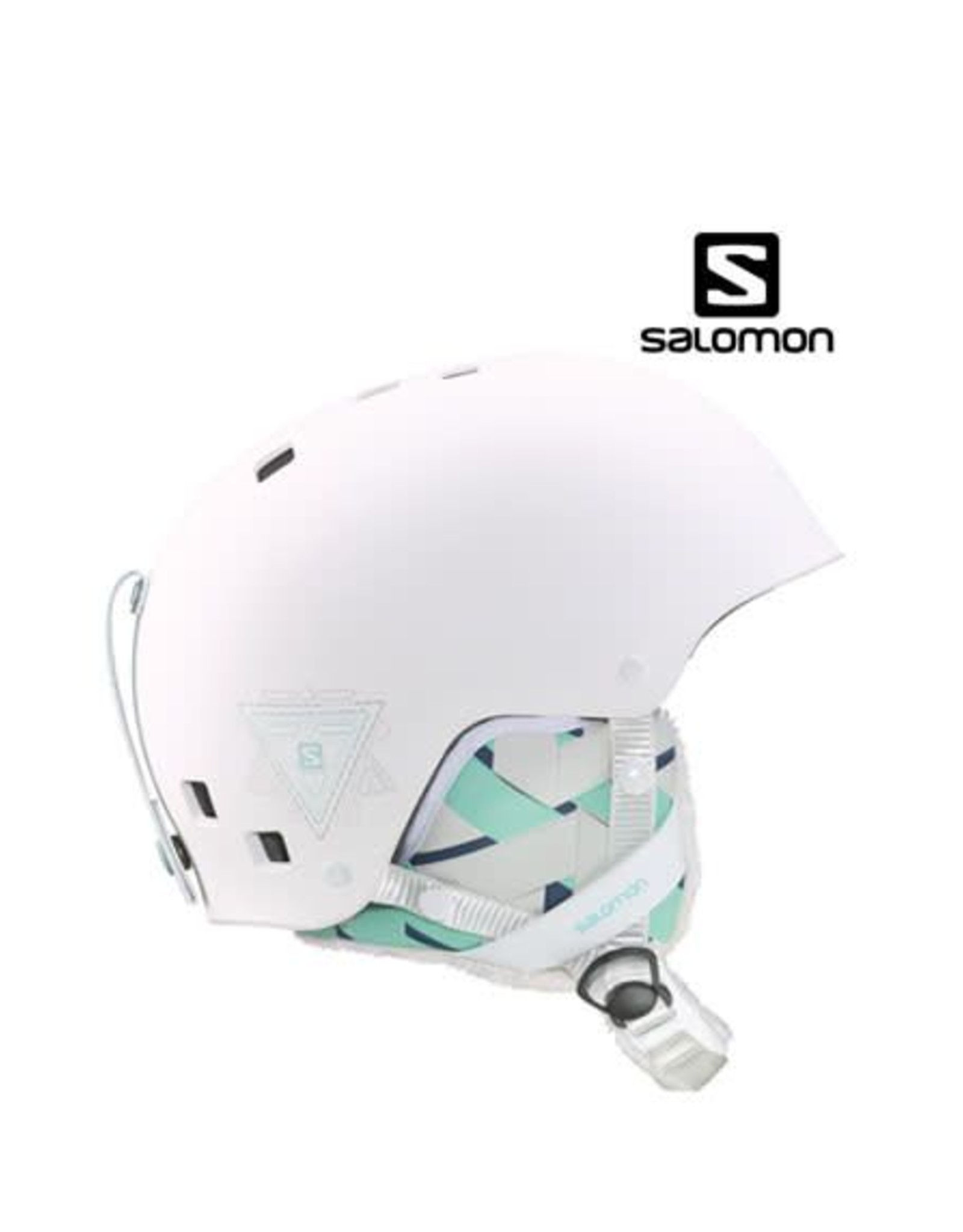 SALOMON Skihelm Venom Mat Wit mt L (58/59))