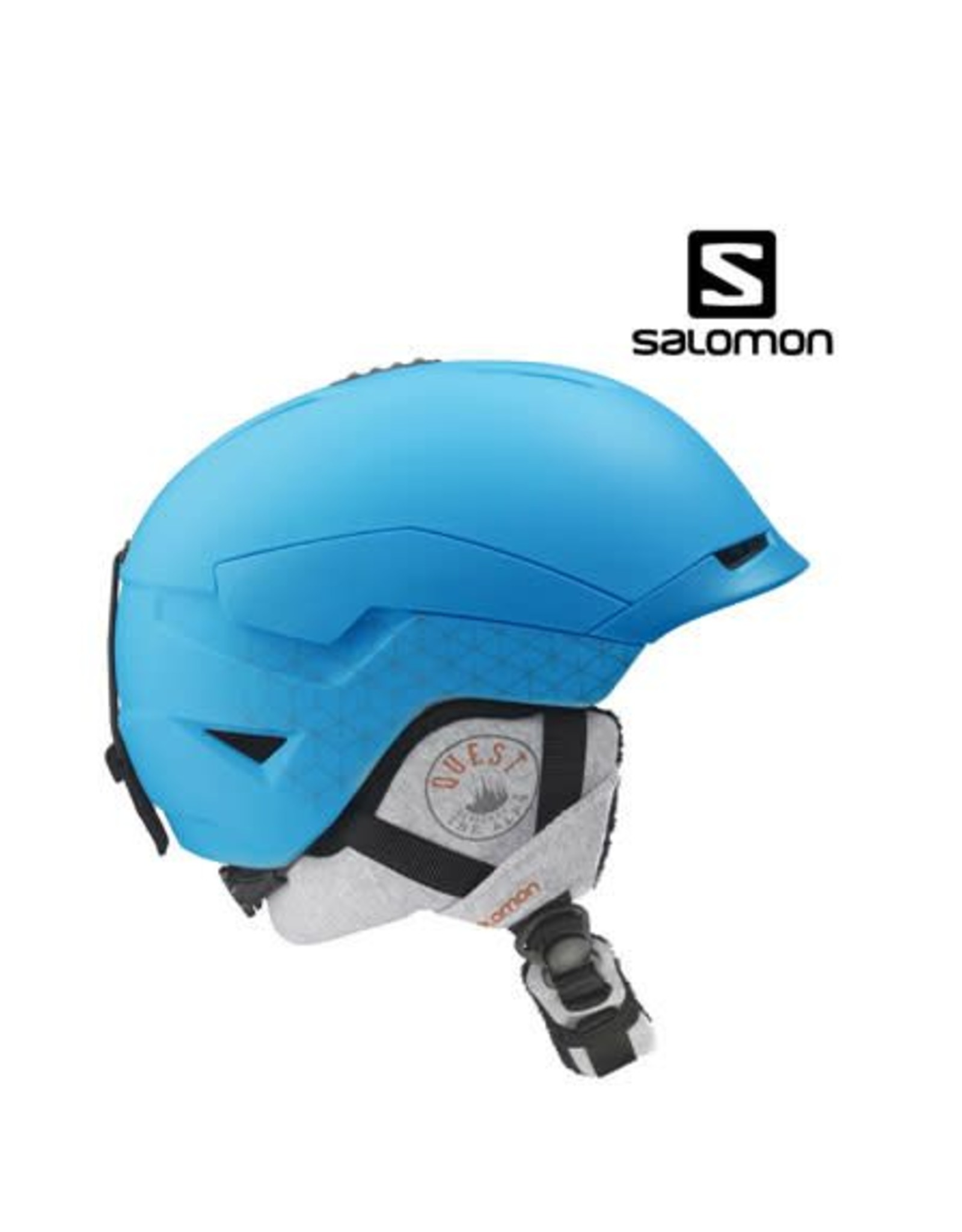 SALOMON Skihelm Quest Access W Blue Matt