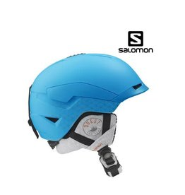 SALOMON Skihelm Quest Access W Blue Matt