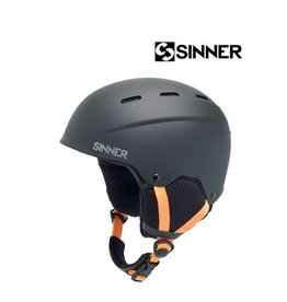 SINNER Skihelm Sinner Poley Mat Black