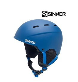 SINNER Skihelm Poley Mat Blue