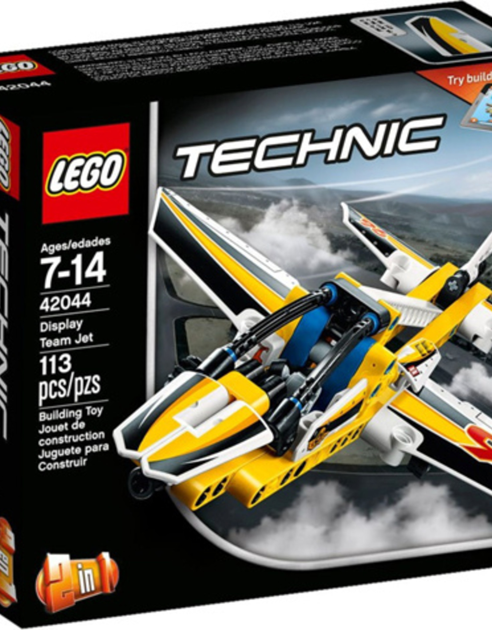 LEGO LEGO 42044 Display Team Jet TECHNIC