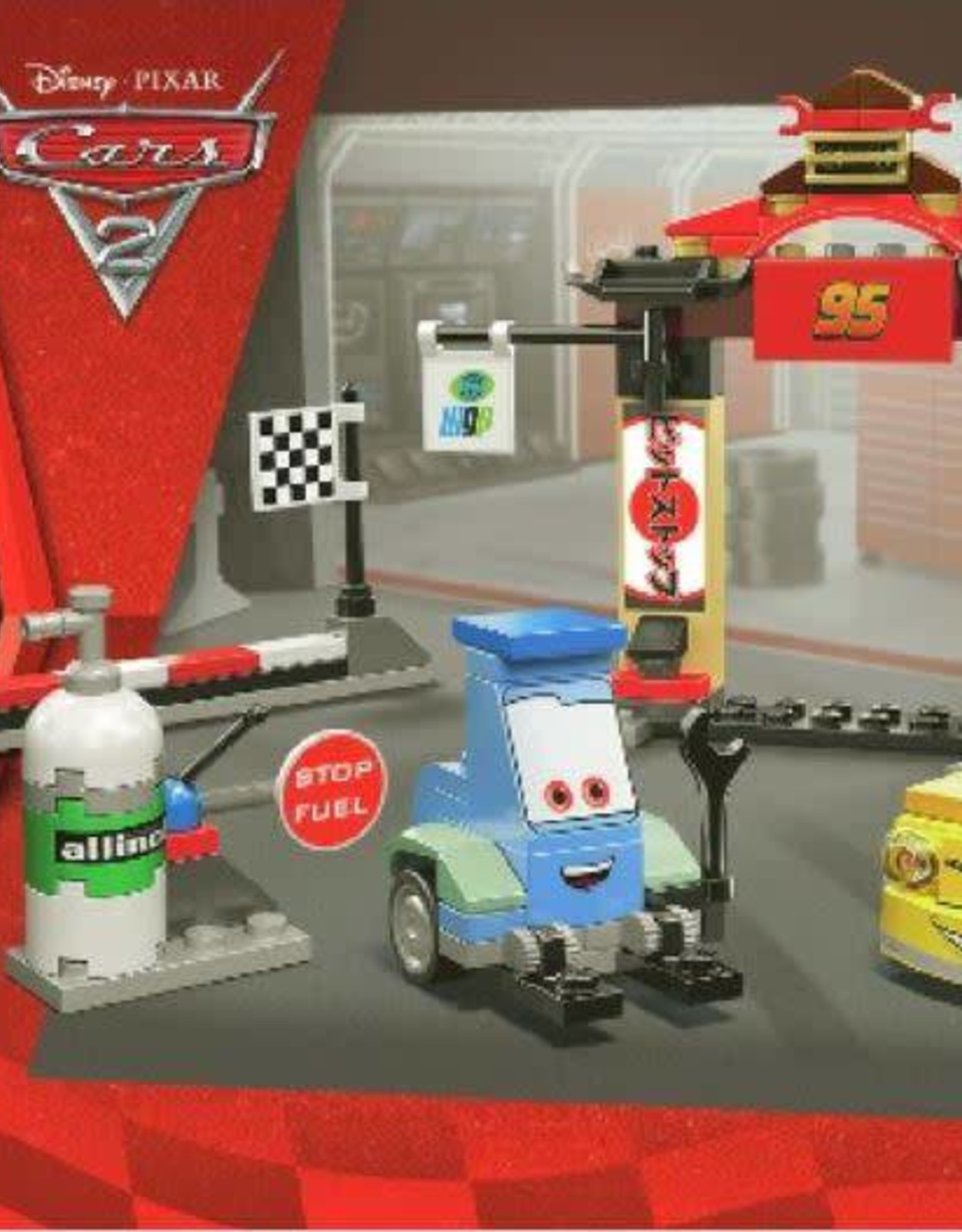 LEGO LEGO 8206 Tokyo Pitstop CARS