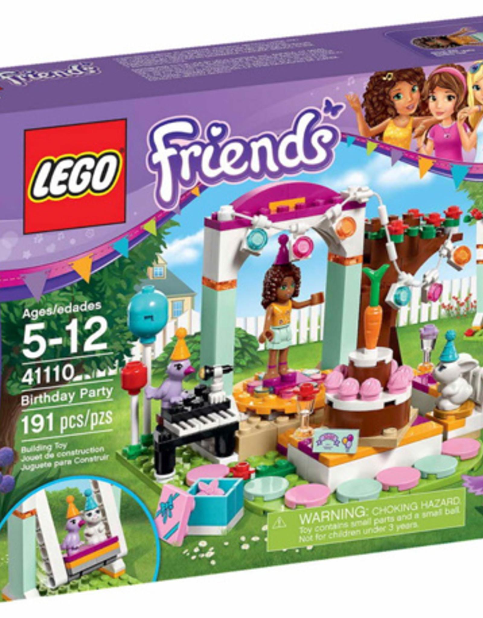 LEGO LEGO 41110 Birthday Party FRIENDS