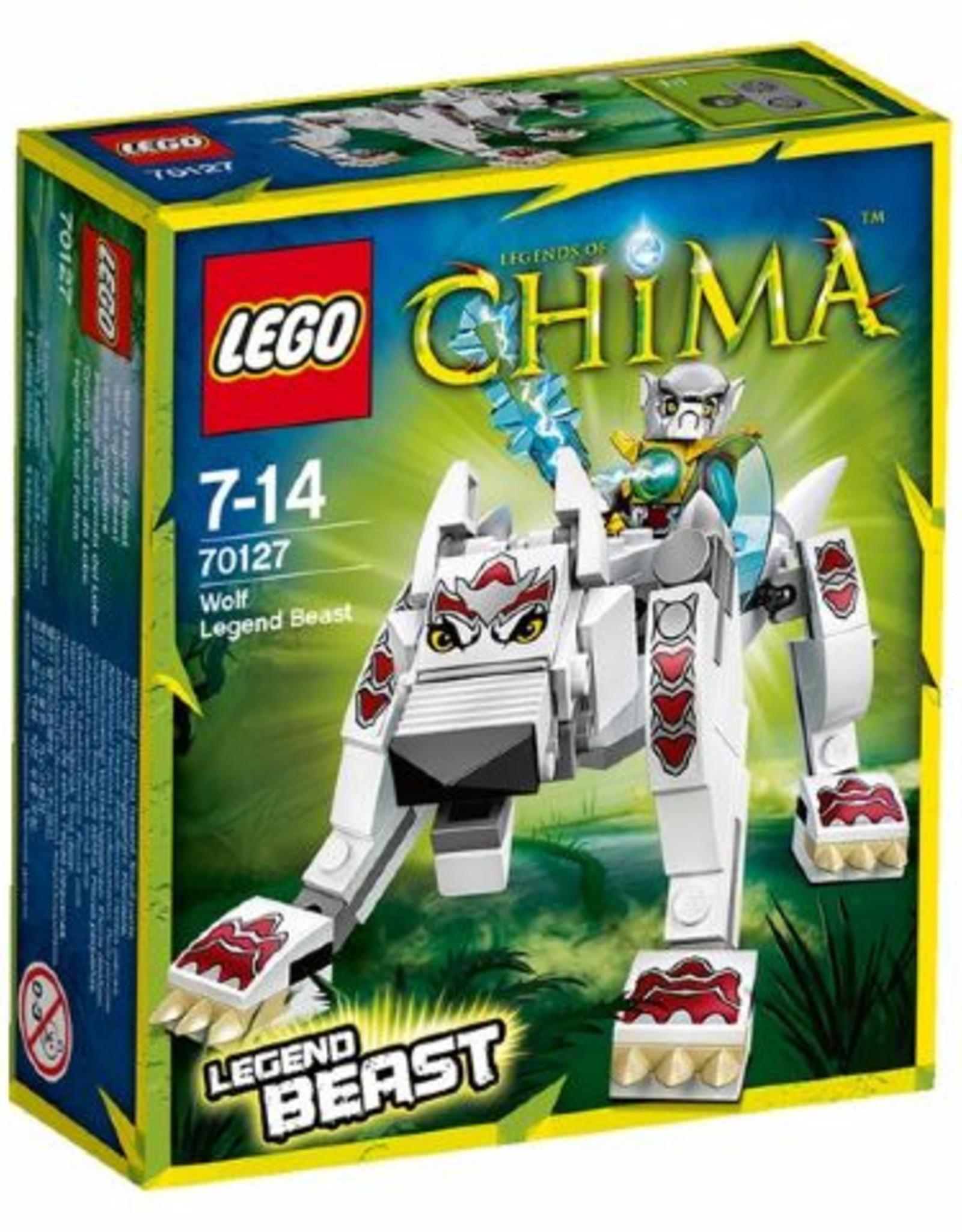 LEGO LEGO 70127 Wolf Legend Beast CHIMA