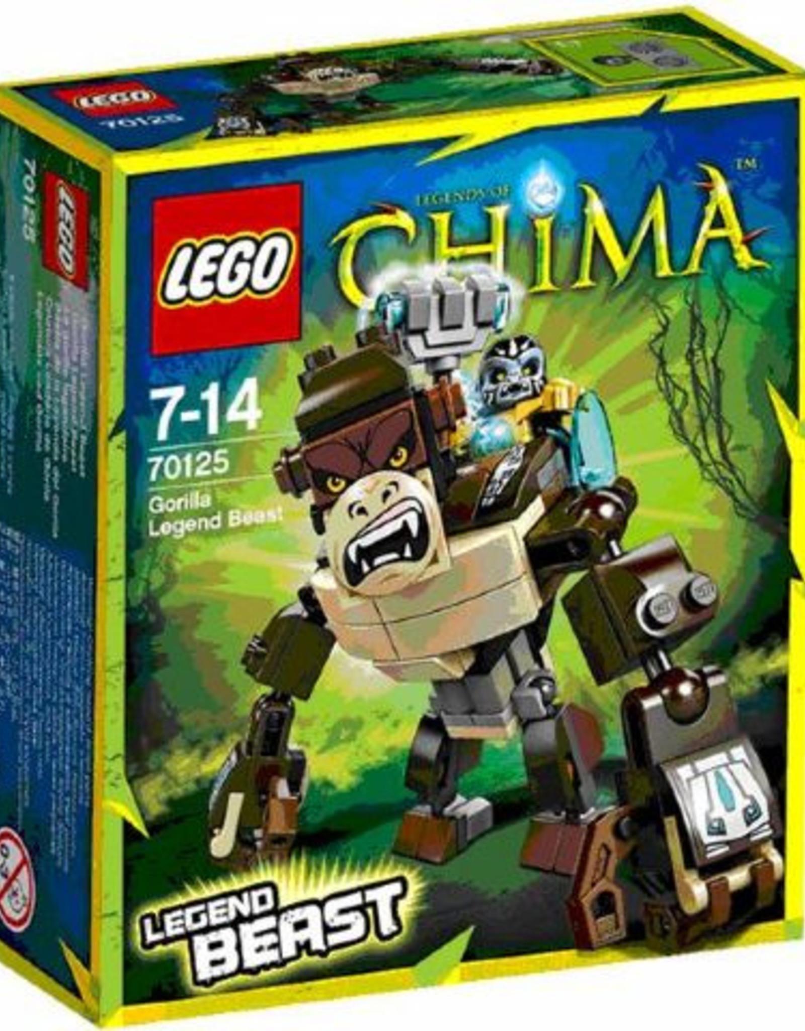 LEGO LEGO 70125 Gorilla Legende Beest CHIMA