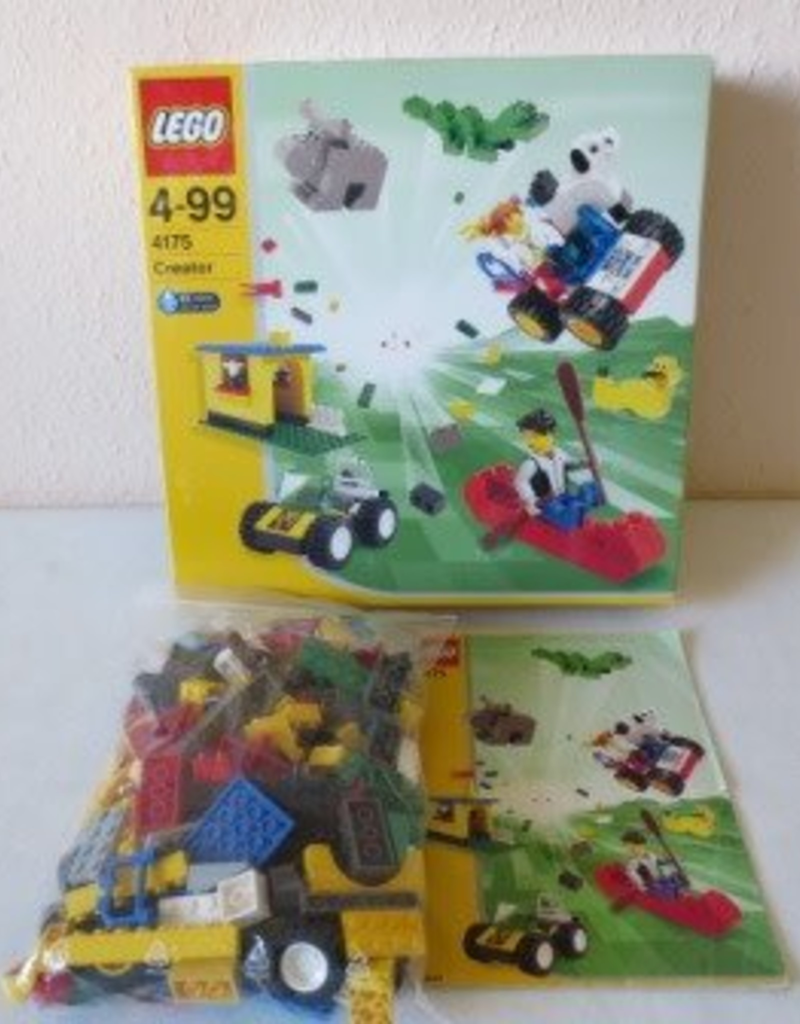 LEGO LEGO 4175 Adventures with Max en Tina CREATOR