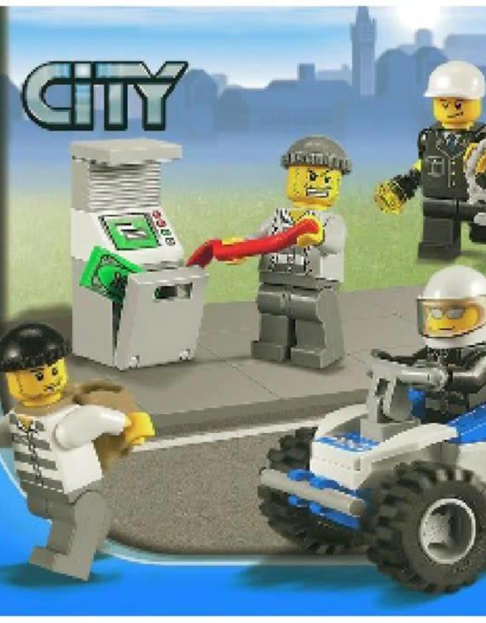 LEGO LEGO 7279 Politie quad + geldautomaat + boef CITY