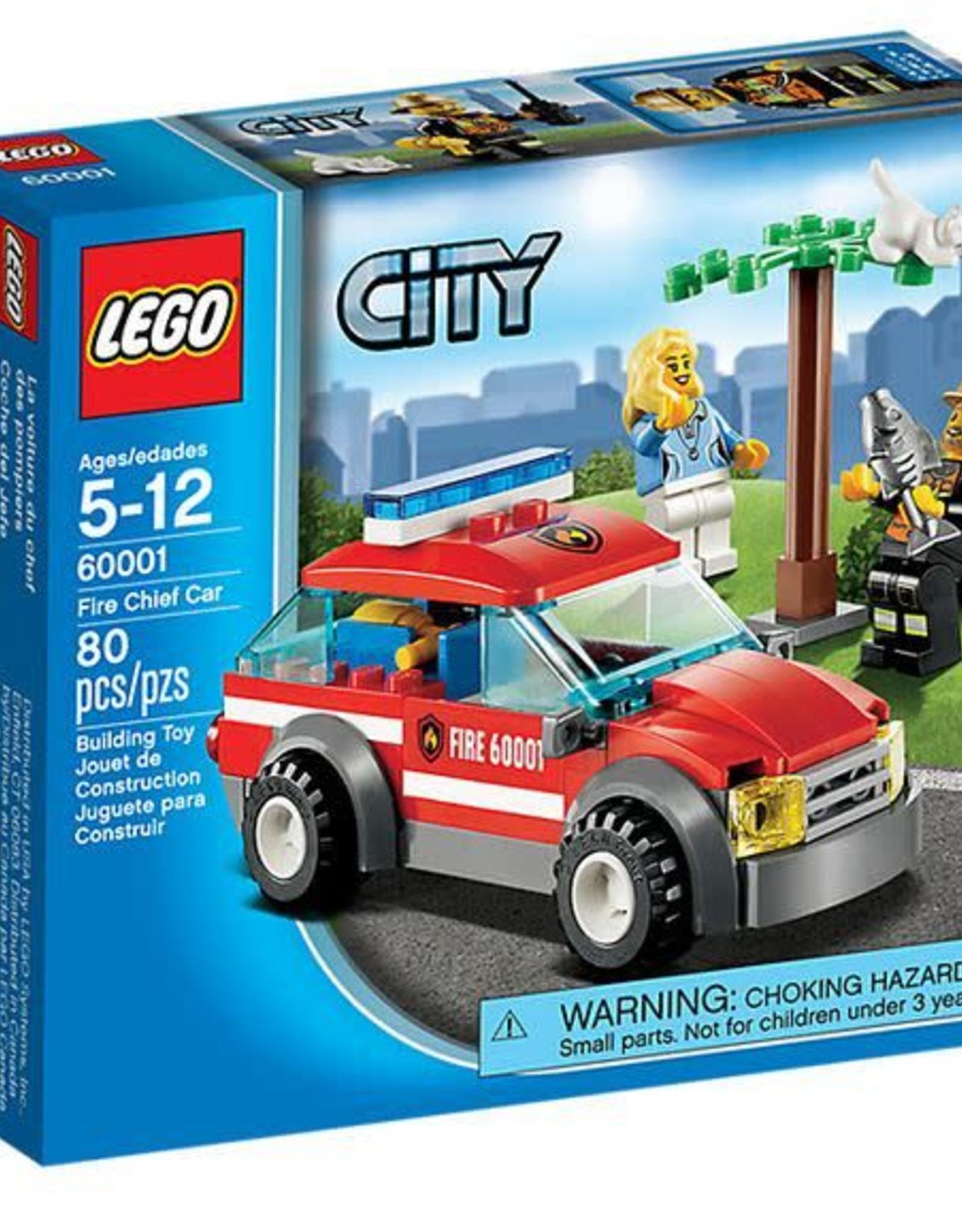 LEGO LEGO 60001 Brandweerauto commandant  CITY