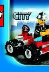 LEGO LEGO 30010 Brandweer commandant CITY