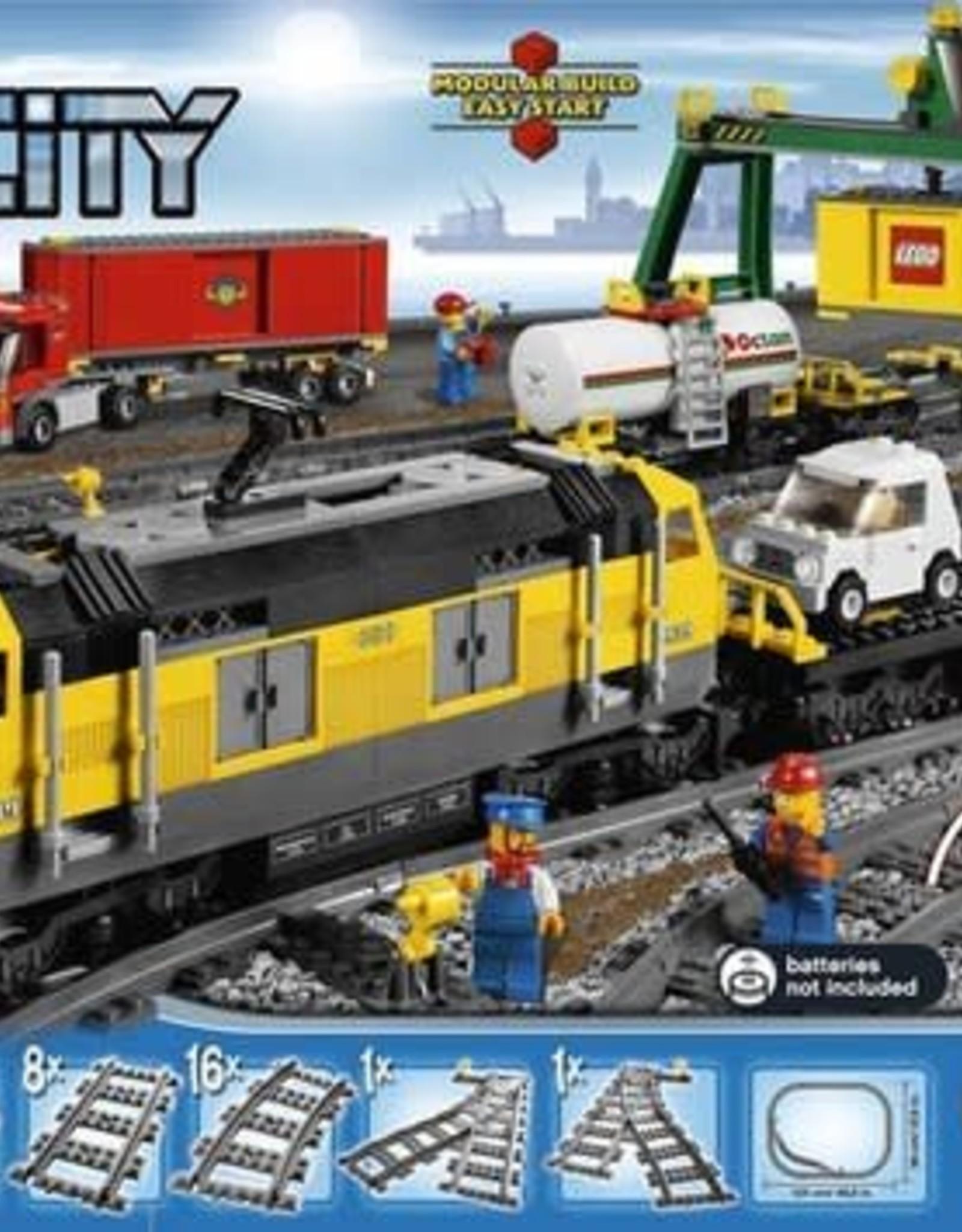 LEGO LEGO 7939 Gele vrachttrein CITY