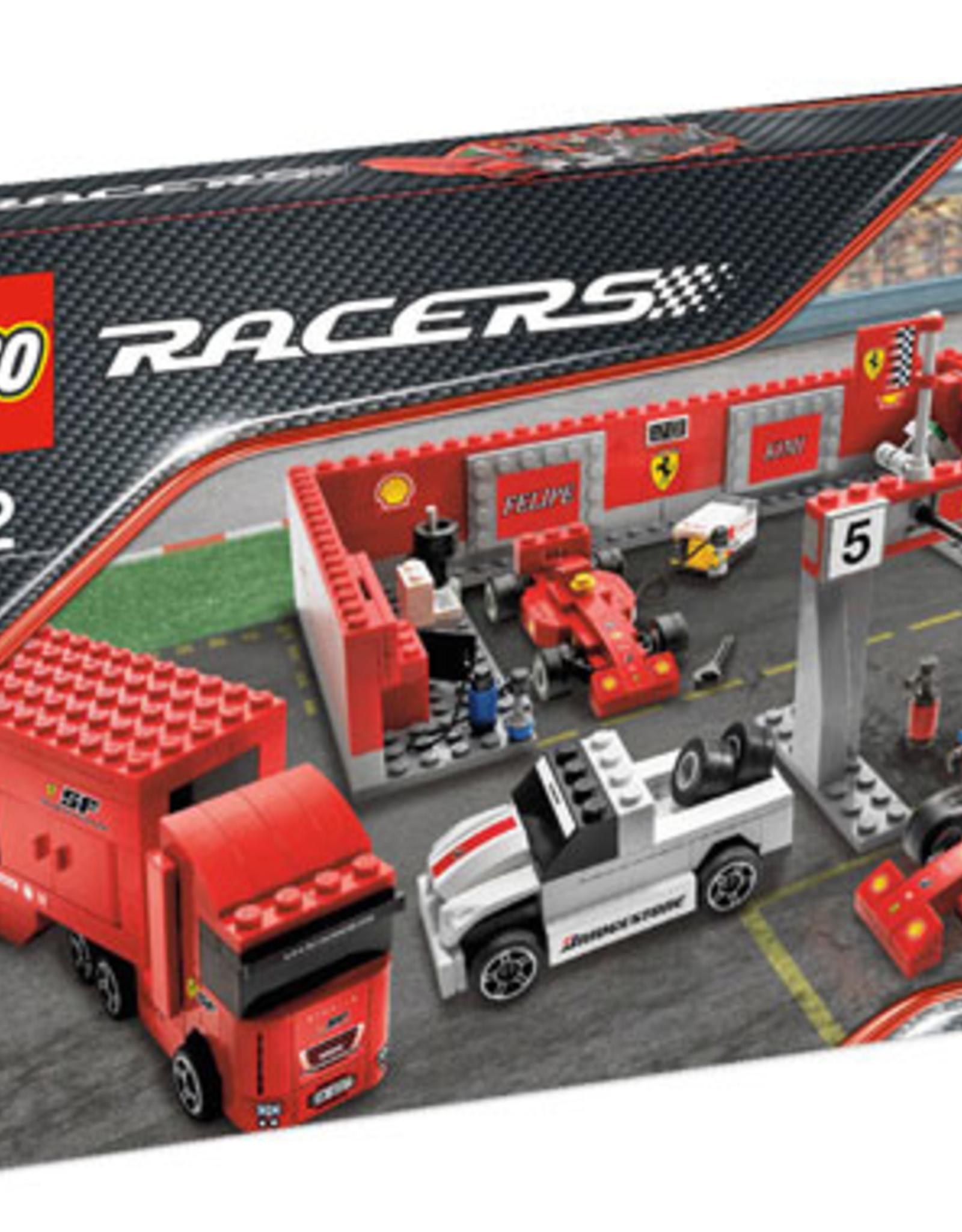 LEGO LEGO 8155 Ferrari F1 Pit RACERS
