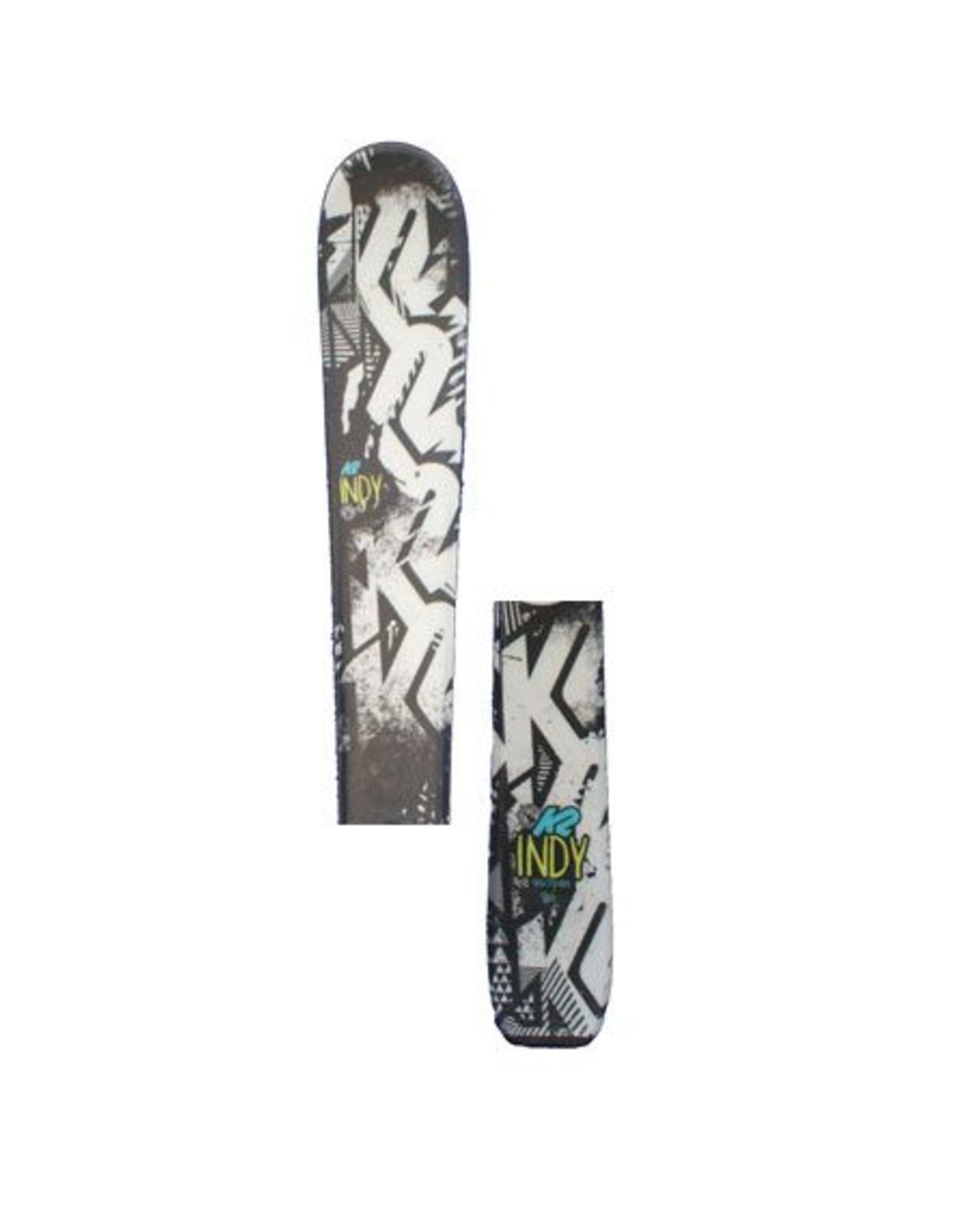 K2 K2 Indy Ski's Gebruikt Zwart / Wit