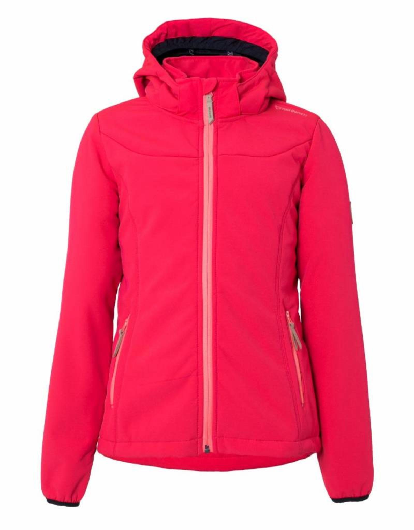 BRUNOTTI NAOSY Softshell ski-jas Girls Punch Pink mt 152