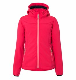 BRUNOTTI NAOSY Softshell ski-jas Girls Punch Pink mt 152