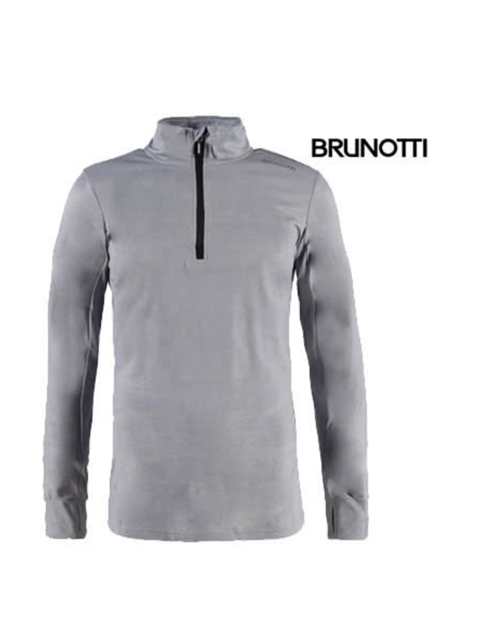 BRUNOTTI BRUNOTTI TERNI Pully Light Grey Melee