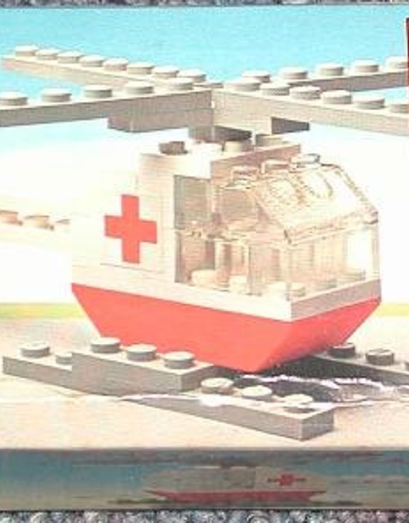LEGO LEGO 626 Red cross helicopter LEGOLAND