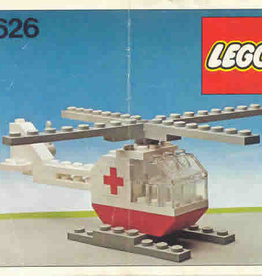 LEGO 626 Red cross helicopter LEGOLAND
