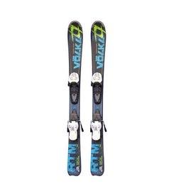 VOLKL RTM jr Ski's Gebruikt Zwart/Blauw/Groen 90cm