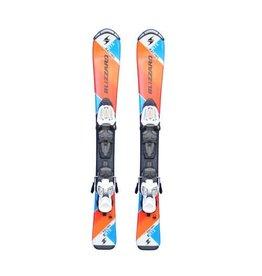 BLIZZARD RTX Racing Jr Ski's Gebruikt Oranje/Blauw