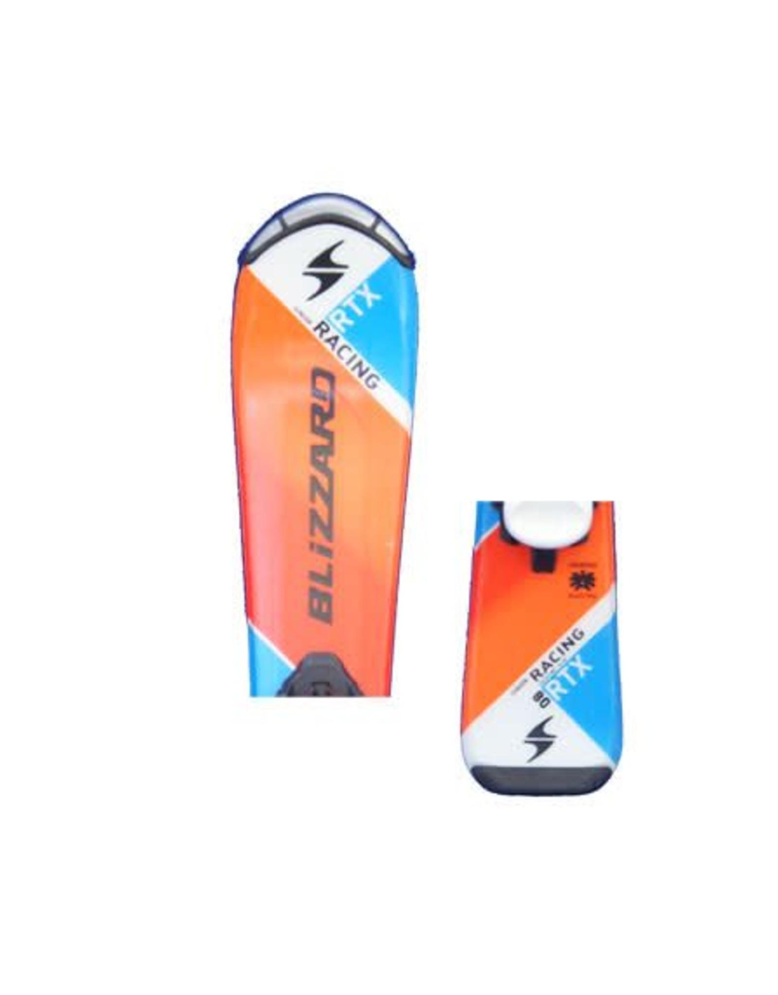 BLIZZARD Blizzard RTX Racing Jr Ski's Gebruikt Oranje/Blauw