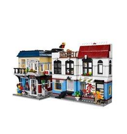 LEGO 31026 Fietswinkel en Cafe CREATOR