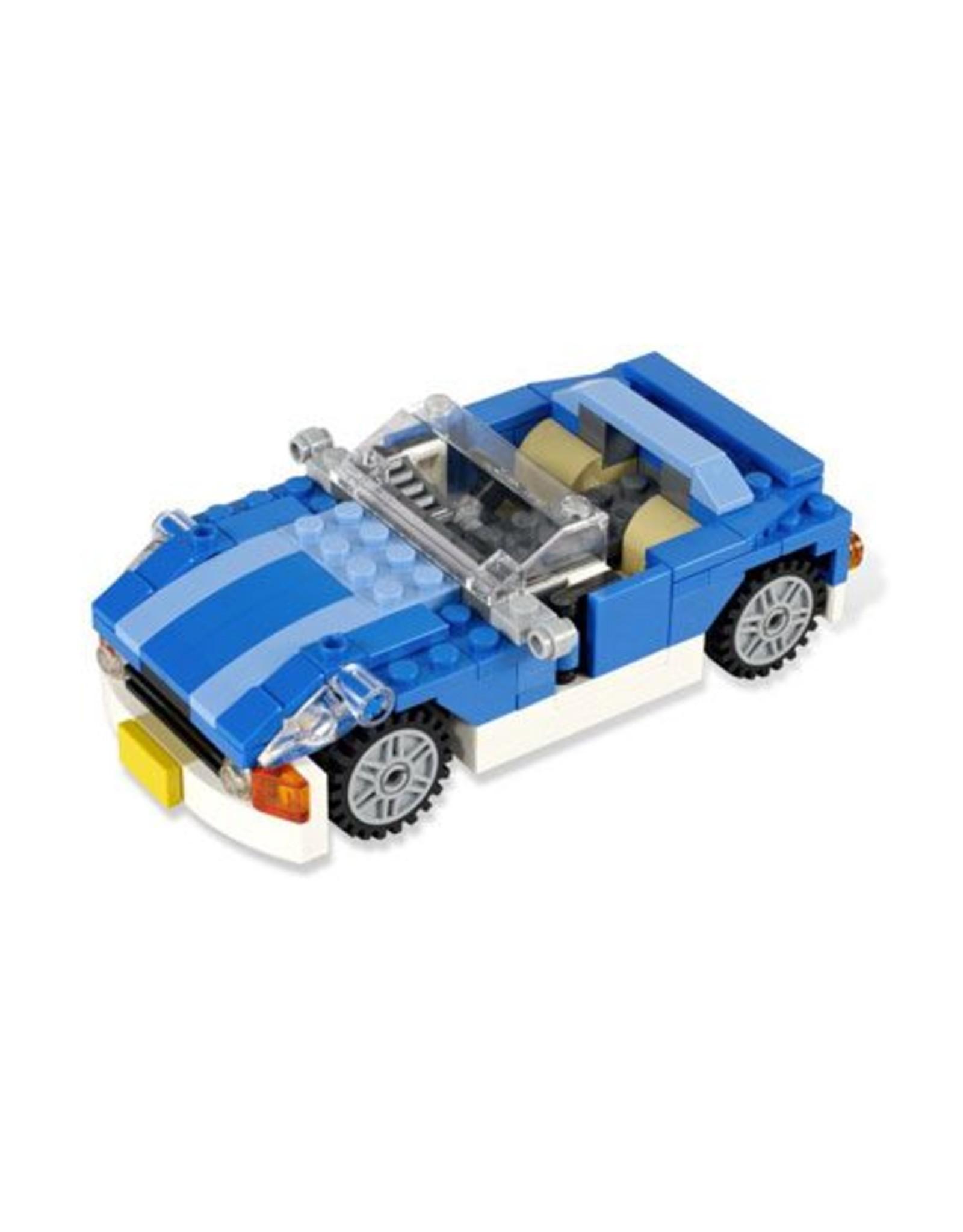 LEGO LEGO 6913 Blauwe sportwagen  CREATOR