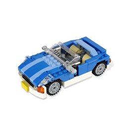 LEGO 6913 Blauwe sportwagen  CREATOR