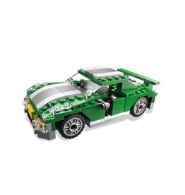 LEGO 6743 Groene race auto - sportwagen CREATOR