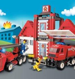 LEGO 4657 Fire Squad HQ 4JUNIORS