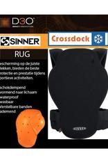 SINNER SINNER Rugbeschermer Castor Spine Protector D3O