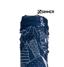 SINNER BANDANA BLUE MOUNTAIN Blauw