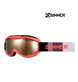 SINNER SKIBRIL TOXIC- S Mat neon Orange Junior