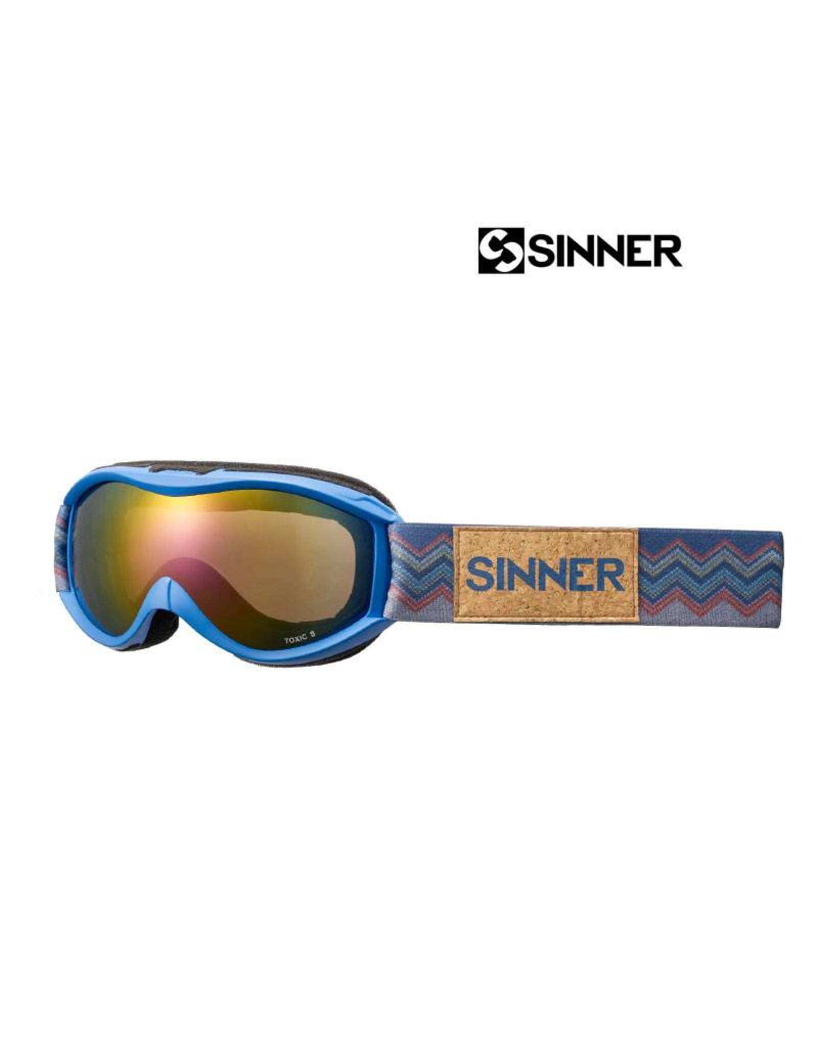 SINNER SKIBRIL SINNER TOXIC S Mat Bright Blue Jr.