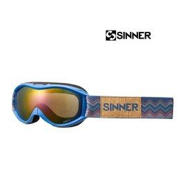 SINNER SKIBRIL TOXIC-S Mat Bright Blue Jr.