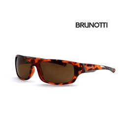 BRUNOTTI LA BARRA 1 Demi Brown Zonnebril Heren