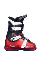 SALOMON Skischoenen SALOMON T2 / T3  Rood/Zwart Gebruikt