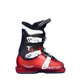 SALOMON Skischoenen SALOMON T3  Rood/Zwart Gebruikt