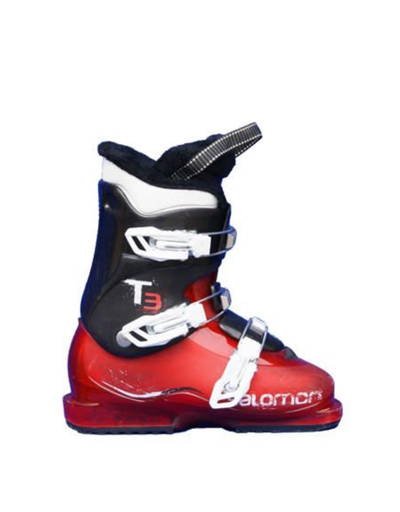 656ab11b743 Skischoenen SALOMON T3 Rood/Zwart Gebruikt - Crossdock