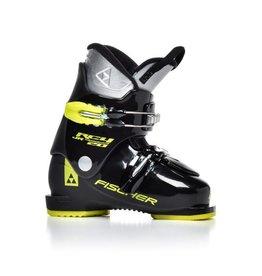 FISCHER Skischoenen RC4 Thermoshape 20 Zwart/Geel Gebruikt 33 (mondo 21.5)