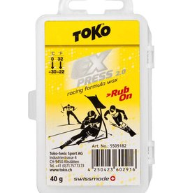 TOKO Express Racing Rub on Wax 40g (0 °C / -30 °C)